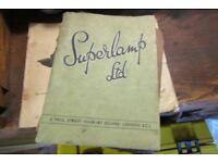 Old tool catalogue SUPERLAMP DRILLS ETC