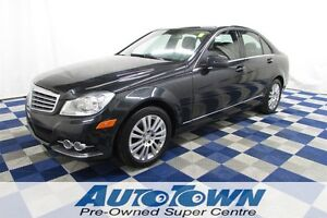 2012 Mercedes-Benz C-Class C250 4MATIC/LEATHER/SUNROOF/CLEAN HIS