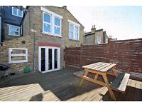 !LOOK! Spacious studio apartment with private terrace. Idea location. Close to station & shops SW17