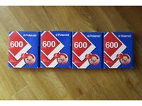 Unopened Polaroid 600 colour film