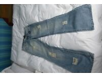David Bitton Numbered limited edition Jeans – Size 12 (30 waist) NEW NEVER WORN