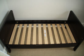 Nursery furniture Mamas and Papas cot/bed, chest of drawers, wardrobe