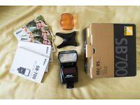 Nikon SB-700 Speedlight Flash Unit - BRAND NEW - Full Kit