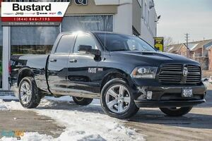 2013 Ram 1500 SPORT | LEATHER | SUNROOF | HEMI | ALPINE | TRAILE