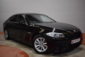 BMW 5 SERIES 2.0 520D SE 4 Door Saloon AUTO 181 BHP (black) 2012