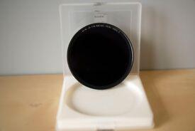 B + W 72 mm F-PRO Mount 110 Single Coated +10 Stop Neutral Density Filter