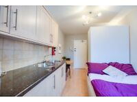 LOVELY STUDIO FLAT *** AVAILABLE NOW *** SOUTH KENSINGTON - ZONE 1