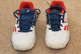 Babolat boys tennis shoes size 2