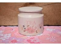 Boots Hedgerose Tea Barrel retro vintage