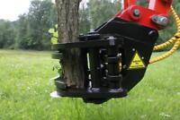 Fällgreifer Baumschere JAK 250 f. Baggeranbau Energieholzgreifer Bayern - Nittenau Vorschau