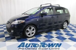 2009 Mazda MAZDA5 GT/CLEAN HISTORY/HEATED SEATS/LEATHER INTERIOR