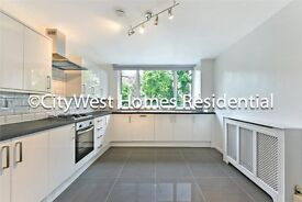 LARGE FANTASTIC THREE BED APARTMENT WITH GARDEN- SPACIOUS KITCHEN AND SEPARATE LIVING ROOM - £515PW