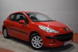 PEUGEOT 207 1.4 S 3 Door Hatchback 73 BHP (red) 2008