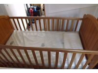 cotbed from mothercare