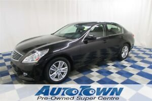 2012 Infiniti G25 Luxury/LEATHER/HTD SEATS/ACCIDENT FREE