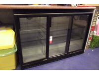 Bar chiller, 3 sliding doors