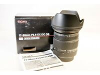 Sigma 17-50mm f/2.8 OS HSM DC Lens for Nikon