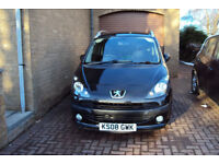 Peugeot 1007 1.6 petrol manual. Previously damaged and repaired
