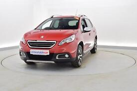 PEUGEOT 2008 1.6 e-HDi Allure 5dr (red) 2015