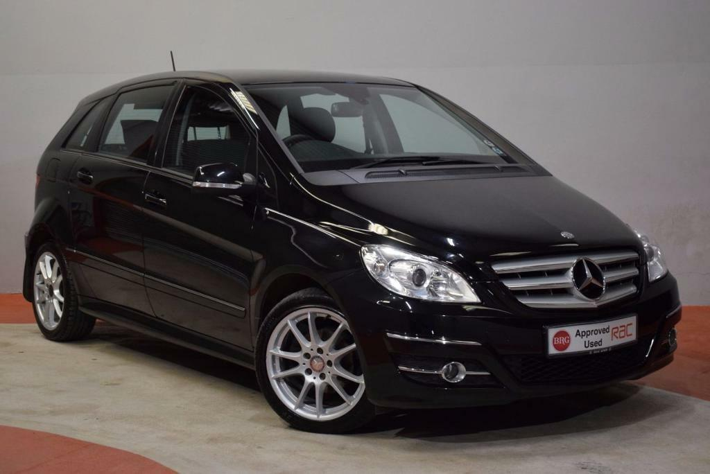 mercedes benz b class 1 7 b170 sport 5d auto 114 bhp black 2009 in newtownards county down. Black Bedroom Furniture Sets. Home Design Ideas