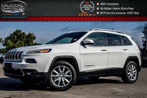 2016 Jeep Cherokee Limited|4x4|Jeep Active Drive I|Leather|Backu