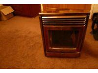 woodburning stove nice retro finish (unwanted)