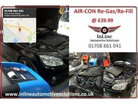Car AIRCON Recharge Re-Fill Service - INLINE AUTOMOTIVE SOLUTIONS - Essex A13 - *Mechanical Repairs