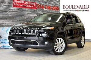 2014 Jeep Cherokee LIMITED 4X4 VUS TOIT PANO** CUIR**
