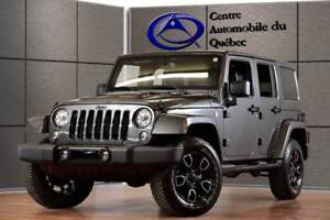 2017 Jeep WRANGLER UNLIMITED SMOKY MOUNTAIN CUIR 4X4 COLORMATCH