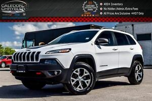 2015 Jeep Cherokee Trailhawk|4x4|Navi|Pano Sunroof|Backup Cam|Bl