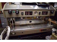 COMMERCIAL COFFEE MACHINE WEGA ANZOLA DELL`EMILIA BOLOGNA + GRINDER