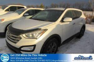 2013 Hyundai Santa Fe Sport PREMIUM SUV AWD! HEATED STEERING+SEA