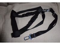 NEW Dog Car Harness with Detachable Seat Belt Strap for Medium to Large Dog, size 50 - 70cm, Histon