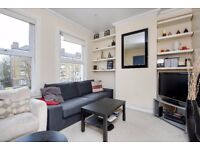 A very well presented split-level three bedroom flat to rent in Southfields.