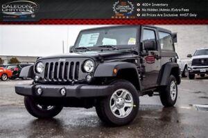 2017 Jeep Wrangler New Car Sport 4x4 HardTop Aircondition Temp C