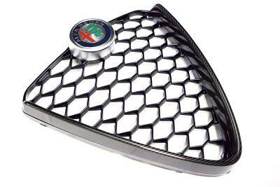 Alfa Romeo Giulia Super carbon Fibre Front Radiator Grille & Badge New & Genuine
