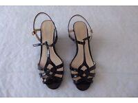 Ladies Patent Leather Sandals