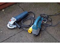 bosch angle grinder and jigsaw