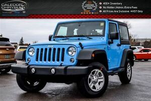 2017 Jeep Wrangler New Car Sport|4x4|Bluetooth|Aircondition||Sat