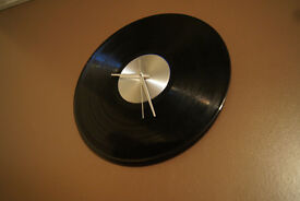 music wall clock, vintage (2 designes)