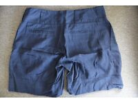 KEW quirky blue shorts in size S
