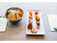 Sous Chef / Senior Chef De Partie for award winning Japanese restaurant (friendly working hours)