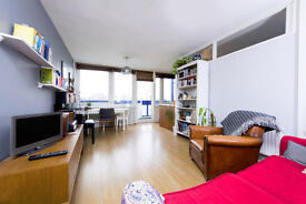 2 bed split level bright and airy top floor apartment with spectacular panoramic views of Islington