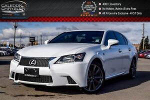2014 Lexus GS 350 AWD|Navi|Sunroof|Backup Cam|Bluetooth|Leather|