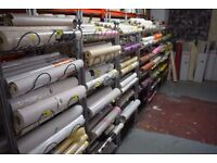 BARGAIN! Wide variety of cheap clearance wallpaper from £2 per roll!