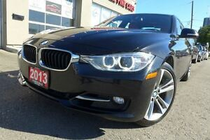 2013 BMW 3 Series 328i xDrive. Sport. Navi. Blk On Red