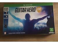 XBOX ONE GUITAR HERO.