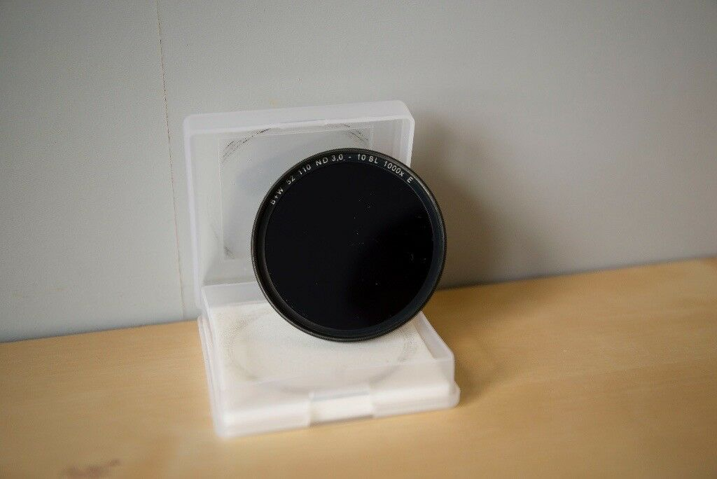 B+W 52mm 110 Single Coated +10 Stop Neutral Density Filter - F-PRO Mount