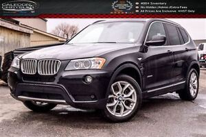 2014 BMW X3 xDrive28i|Navi|Pano Sunroof|Backup Cam|Bluetooth|H