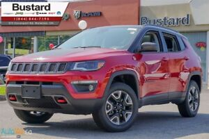 2017 Jeep Compass Trailhawk   LEATHER   4X4   PANORAMIC   LOADED